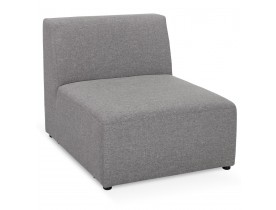 Element van samen te stellen bank 'BELAGIO SEAT' lichtgrijs - 1 zitplaats