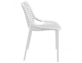 Moderne, witte stoel 'BLOW' uit kunststof