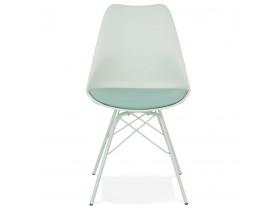Lichtgroene industriële design stoel 'BYBLOS'