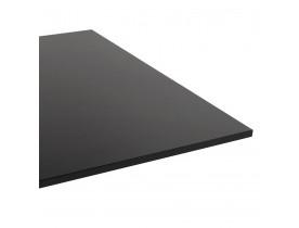 Design tafel / bureau 'DENVER' zwart - 160x80 cm
