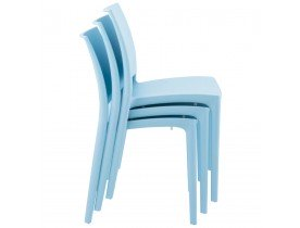 Designstoel 'ENZO' blauw