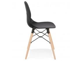 Zwarte moderne Scandinavische stoel 'EPIK'