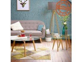 Design tapijt 'GRAFIK' 160/230 cm met groene grafische motieven