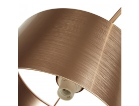 Boogvormige, copper design staanlamp 'KALIPSO'