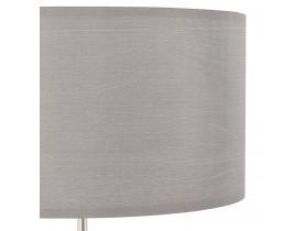 Grijze, in de hoogte regelbare tafellamp 'LIVING MINI'