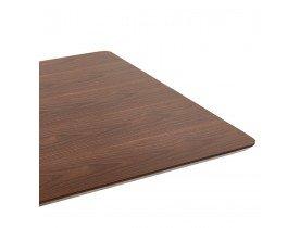 Design tafel / bureau 'MAMBO' met notenhouten afwerking - 150x70 cm