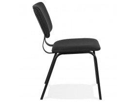Zwarte vintage stoel 'MELODY'