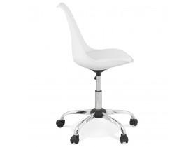 Witte design bureaustoel 'MONKY'