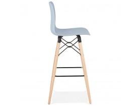 Design barkruk 'MOZAIK' blauw Scandinavische stijl