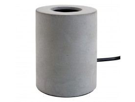 Grijze voet voor tafellamp 'NIGRI' in betoneffect