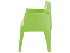 Groene design stoel 'PLEMO'