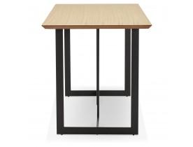 Eettafel / design bureau 'TITUS' van natuurlijk hout - 150x70 cm
