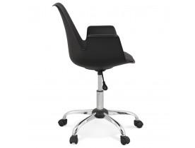 Zwarte design bureaustoel 'TRIP' met armleuningen
