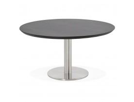 Lage loungetafel AGUA zwart - Ø 90 cm