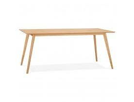 BARISTA' design eettafel / bureau in hout in Scandinavische stijl - 180x90 cm