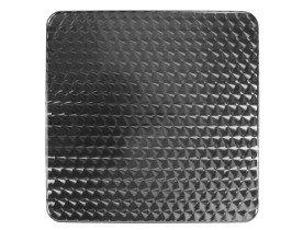 Vierkant tafelblad 'BARCA' 70x70 cm uit roestvrij staal