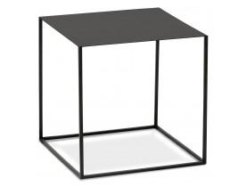 Design bijzettafel 'BONUS' van zwart metaal