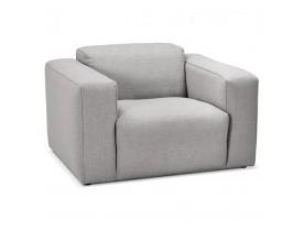 Design salonzetel 1 zitplaats 'CANYON MICRO' lichtgrijs