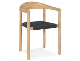Houten design stoel 'CORDON' voor binnen/buiten - bestel per 2 stuks / prijs voor 1 stuk
