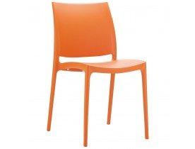 Designstoel 'ENZO' oranje