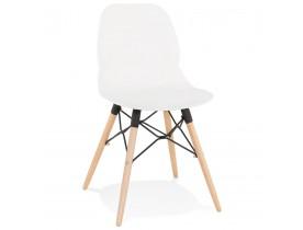 Witte moderne Scandinavische stoel 'EPIK'
