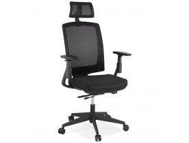 Ergonomische bureaustoel 'EXTRA' zwart