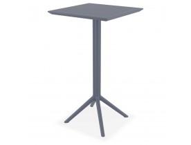 Donkergrijze vouwbare hoge tafel 'FOLY BAR' voor binnen en buiten