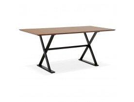 Eettafel / design bureau'HAVANA van notenhout - 180x90 cm - Alterego