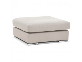 Design poef 'LUCA ONE' beige