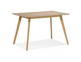 Design 'MARIUS' tafel / bureau in hout met natuurlijke afwerking - 120x80 cm