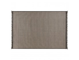 Etnisch tapijt 'MARYSE' 160/230 cm zwarte en gele motieven