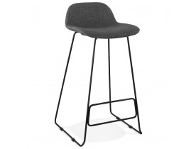 Design barkruk 'MOSKOW' zwart industriële stijl