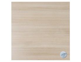 Vierkant tafelblad 'NATO' in natuurlijke houtafwerking - 60x60 cm