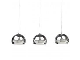 Hanglamp 'PENDUL' met drie verchroomde bollen