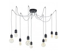 Moderne hanglamp in de vorm van een spin 'RAINY' met 9 lampvoeten