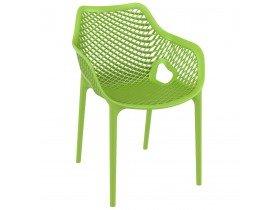 Groene kunststof 'SISTER' tuin- / terrasstoel
