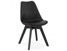 Designstoel 'TAPAS' zwart