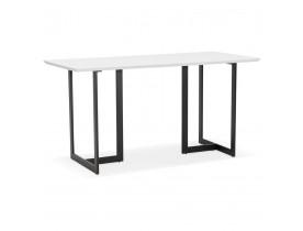 Eettafel / design bureau TITUS van wit hout - 150x70 cm - Alterego