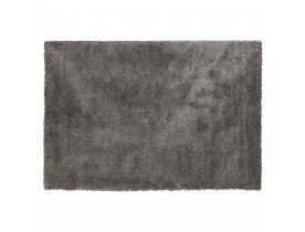 Donkergrijs shaggy woonkamertapijt 'TISSO' - 160x230 cm