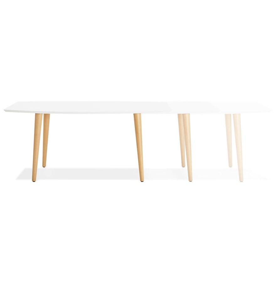 Design Eettafel Uitschuifbaar.Uitschuifbare Design Eettafel Eskimo In Scandinavische Stijl 170 270 X100 Cm