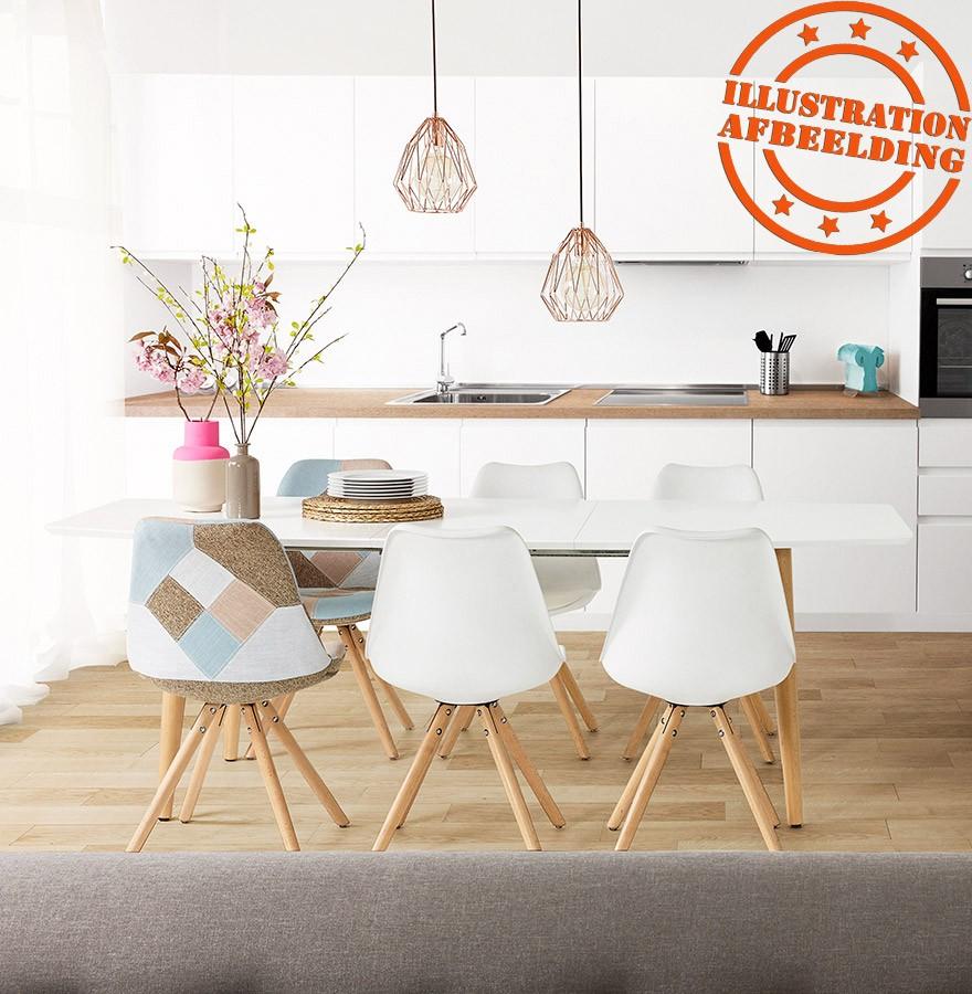 Moderne Uitschuifbare Eetkamertafels.Design Eettafel Eskimo Uitschuifbare Tafel In Scandinavische Stijl
