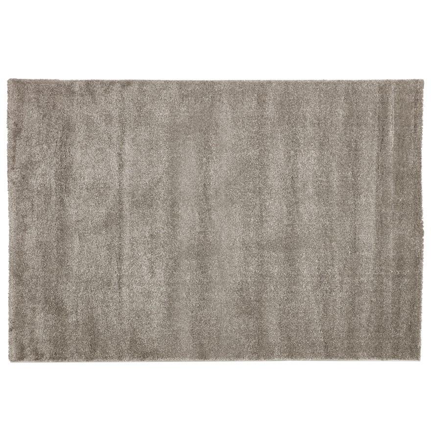 Design tapijt lilou erg zacht grijs hoogpolig tapijt 160x230 cm - Grijs tapijt ...