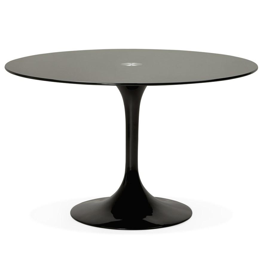 Ronde Design Tafel.Ronde Zwarte Design Eettafel Alexia Design Tafel O 120 Cm