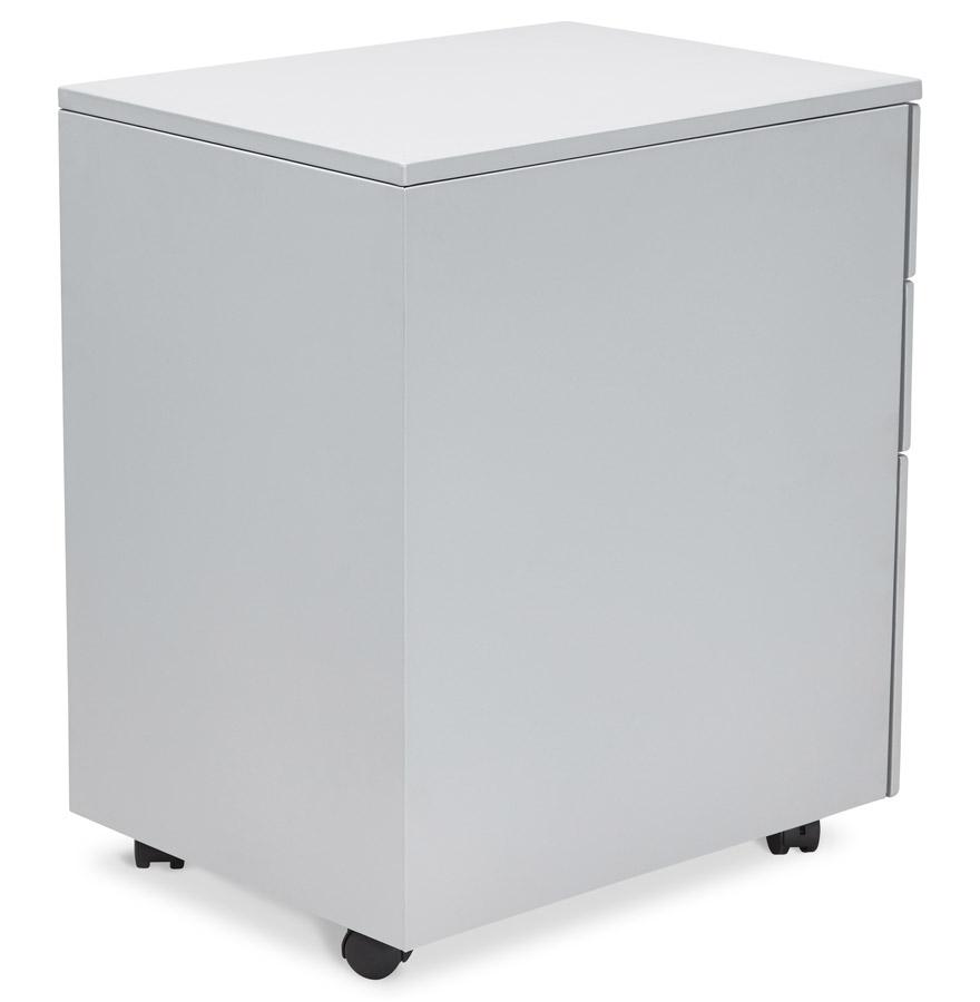 dali grey psd h2 04 1 - Caisson de rangement ´DALI´ gris à tiroirs pour bureau