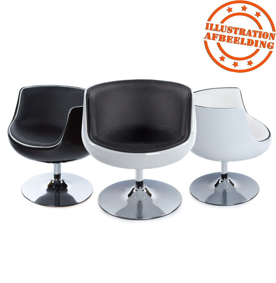 fauteuil boule design deko fauteuil rotatif blanc style. Black Bedroom Furniture Sets. Home Design Ideas