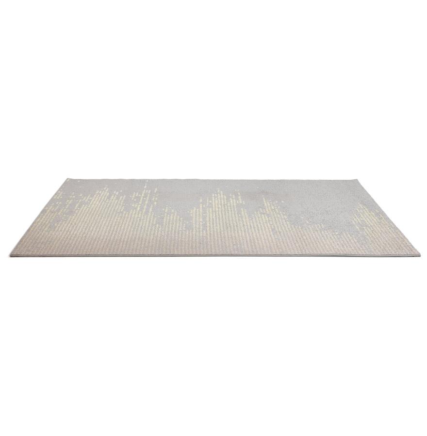 Tapis design ´DELY´ 160/230 cm dégradé gris et jaune