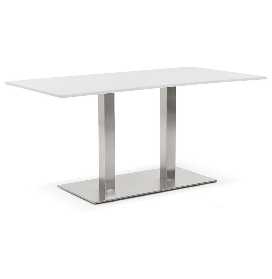 vergadertafel denver wit 160x80 cm design bureau. Black Bedroom Furniture Sets. Home Design Ideas