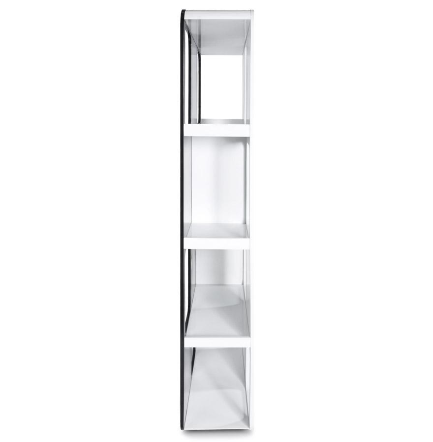 domino black white newsite 03 1 - Etagère design ´DOMINO´ en bois noir et blanc