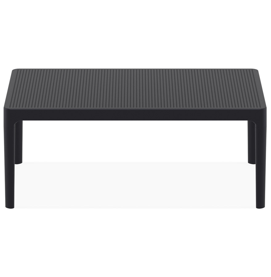 Table basse de jardin ´DOTY´ noire design - 100x60 cm