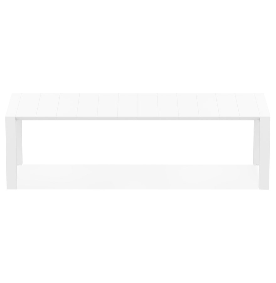Table de jardin extensible ´ELASTIK LARGE´ blanche - 260(300)x100 cm